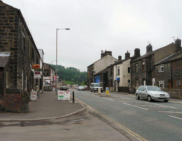 Rochdale Road, Walsden