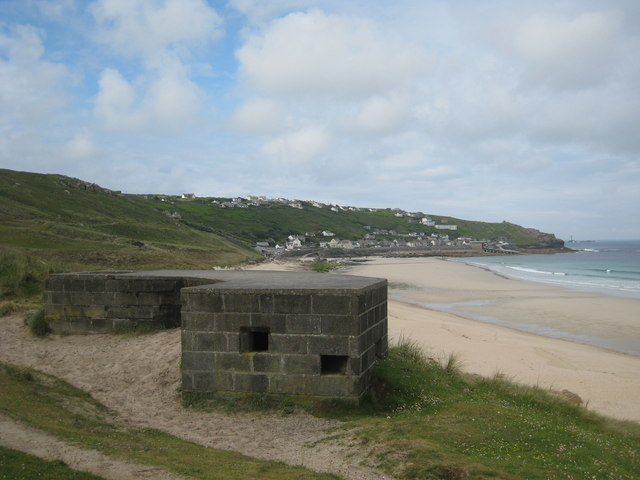 Pillbox beside the coastal path