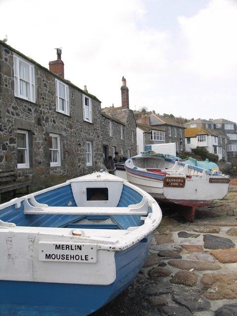 Fishing Boats, Mousehole, Cornwall