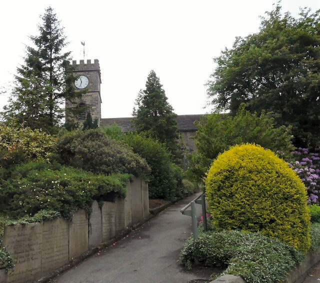 Path to St Mary's