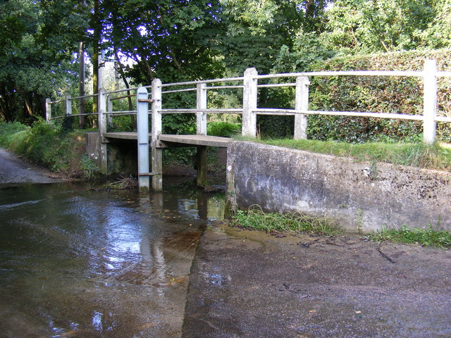 Ford and the River Fromus at Benhall Green