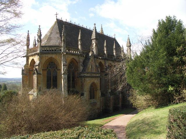 Chapel, Tyntesfield, Somerset