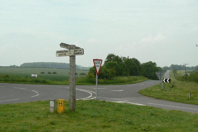 Wootton crossroads