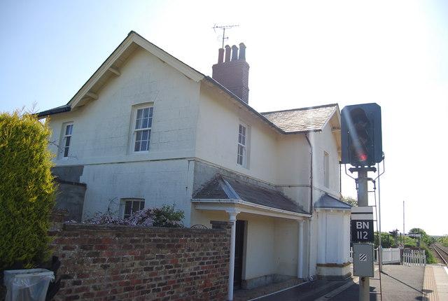 Station house, Bempton Station