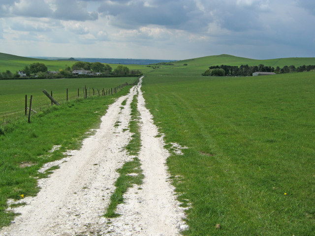 Farm track at New Town