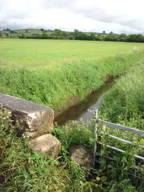 Boundary stone, Moss Lane