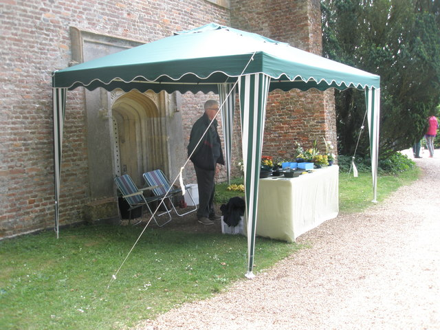 """Chapel, Stansted Park- stall supporting """"Help for Heroes"""""""