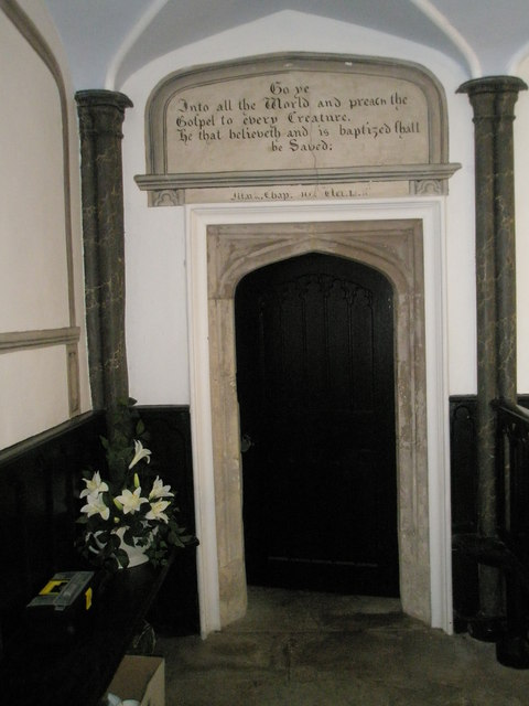 Chapel, Stansted Park- door to the bell tower