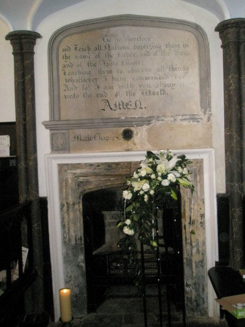 Chapel, Stansted Park- memorial (1)