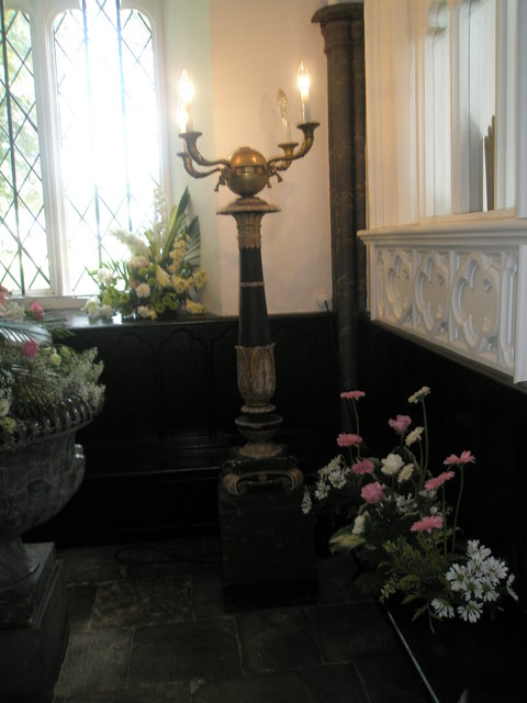 Chapel, Stansted Park- lamp