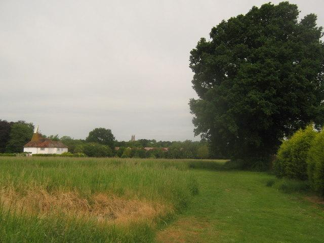 Footpath towards Tenterden