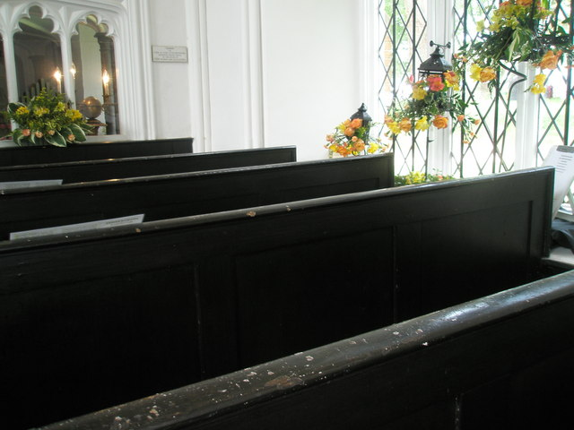 Chapel, Stansted Park- pews
