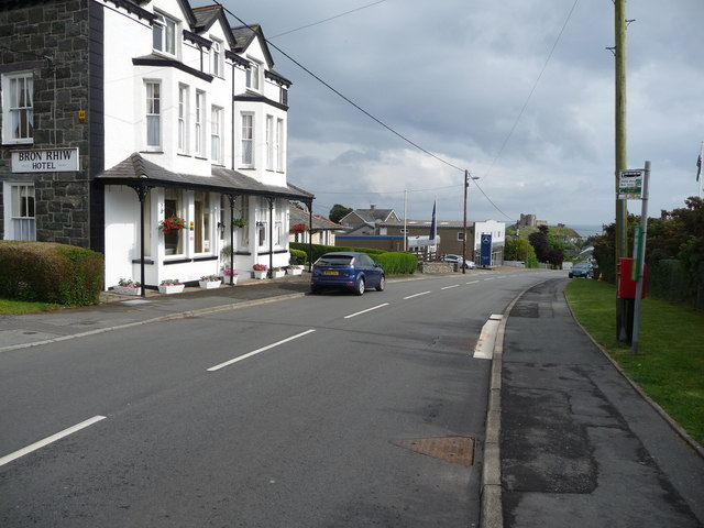 Part of Criccieth town