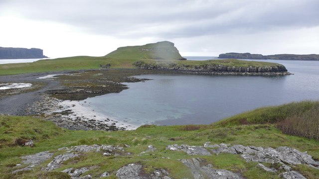 Oronsay Island from the mainland at Ullinish Point