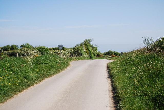Passing place, Cliff Lane
