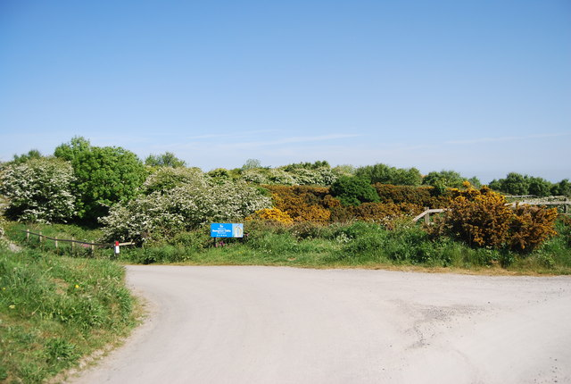 The entrance to Bempton Cliff Reserve