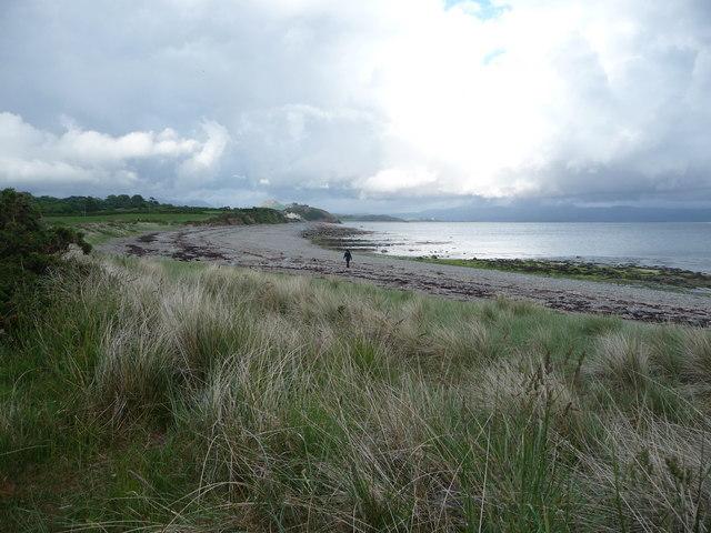 View from the Lleyn Coastal Path towards Criccieth