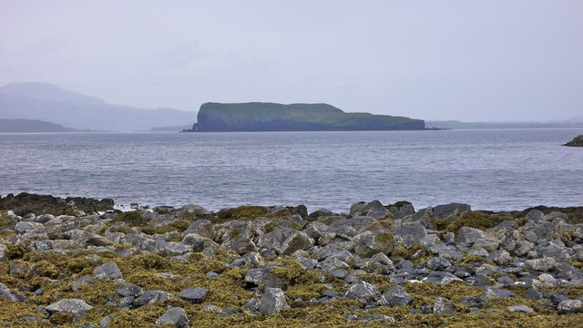 Southern tip of Tarner Island from the causeway at Oronsay