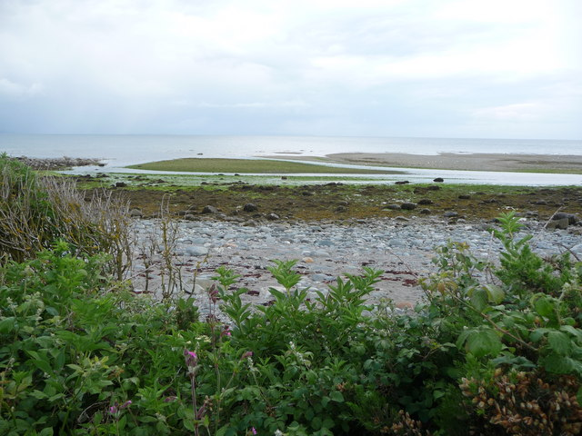 Mouth of the Afon Dwyfor