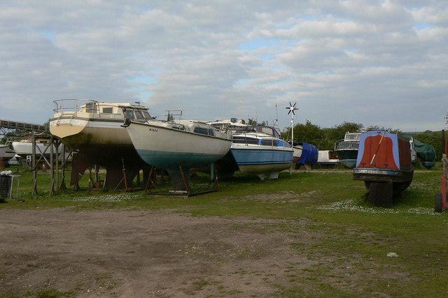 Clapson's boat yard