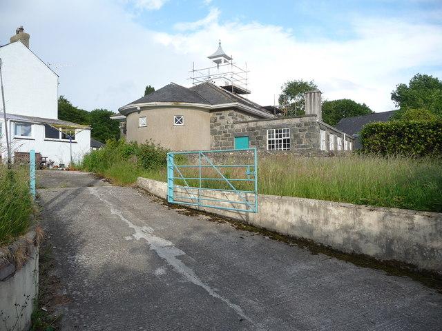The rear of Moria chapel, Llanystumdwy