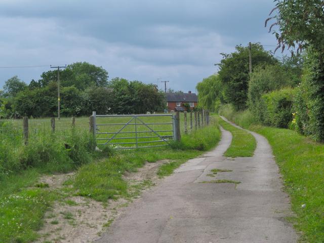 Cottages off Brome Hall Lane, Kingswood