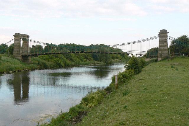 River Ancholme at Horkstow Bridge