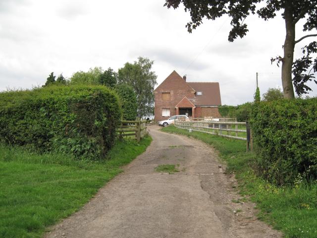 New house near Brome Hall Farm