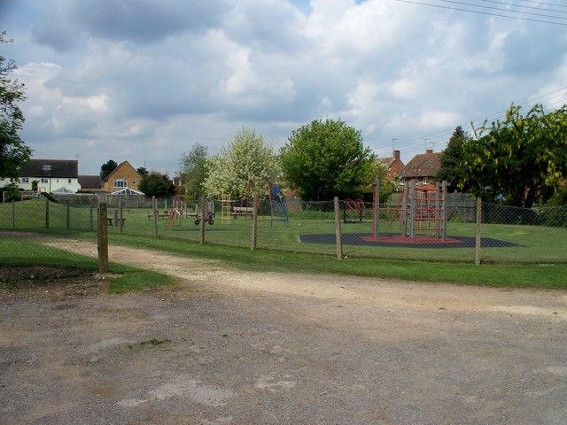 Play area in Childswickham
