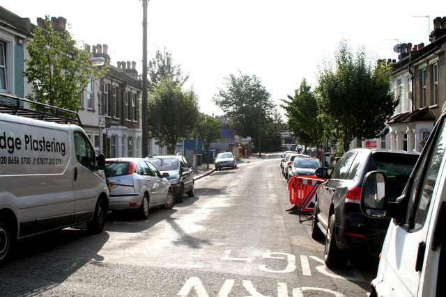 Croydon:  Alpha Road
