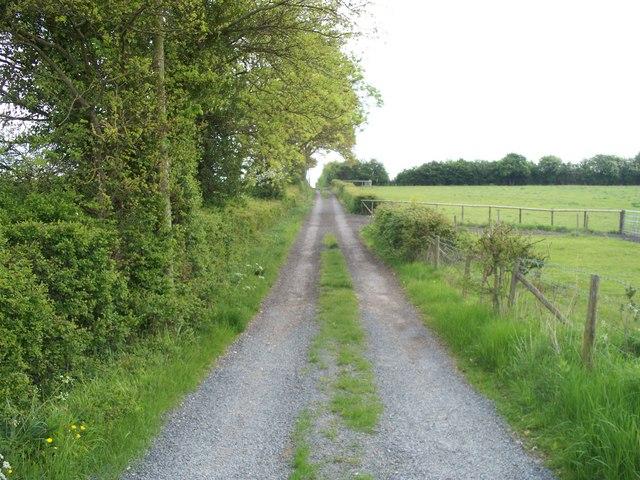 Bridleway to Evesham Road [3]