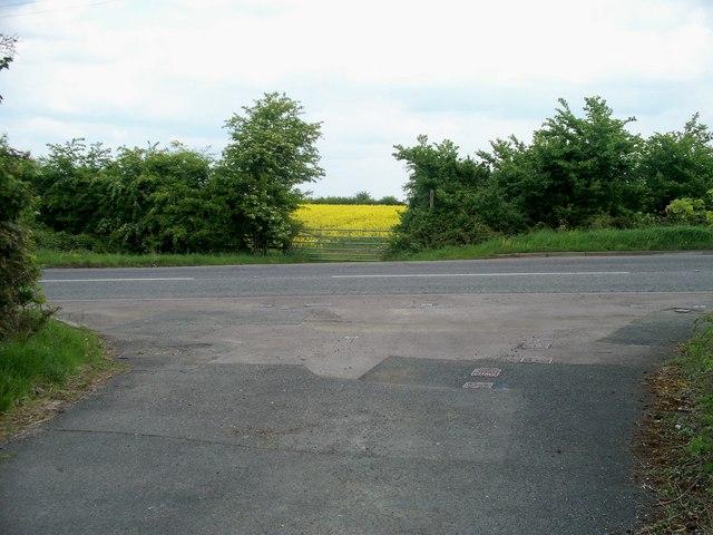 Across Evesham Road