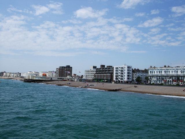 Worthing coastline