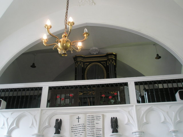 Chapel, Stansted Park- organ