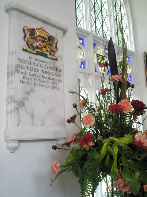 Chapel, Stansted Park- memorial (2)
