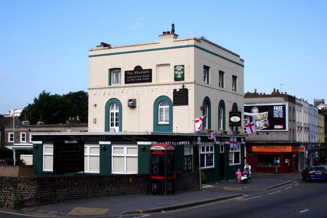 Croydon:  The 'Windmill',  St. James' Road
