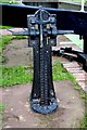SO8459 : Droitwich Barge Canal - winding  gear at lock no. 1 (formerly 8) : Week 24