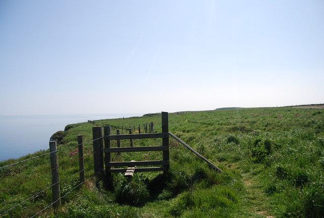 Inactive stile, Headland Way