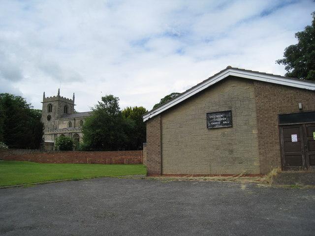 All Saints' church, Belton and Church Hall