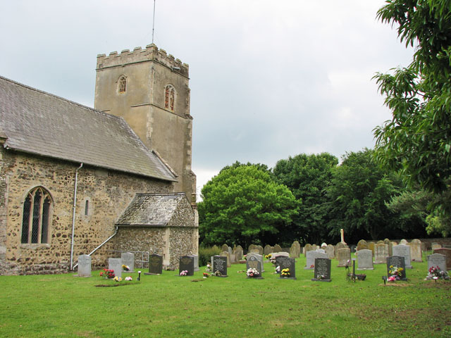 St Mary's church in Crimplesham - churchyard