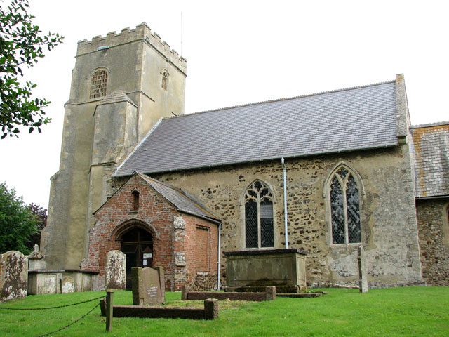 St Mary's church in Crimplesham