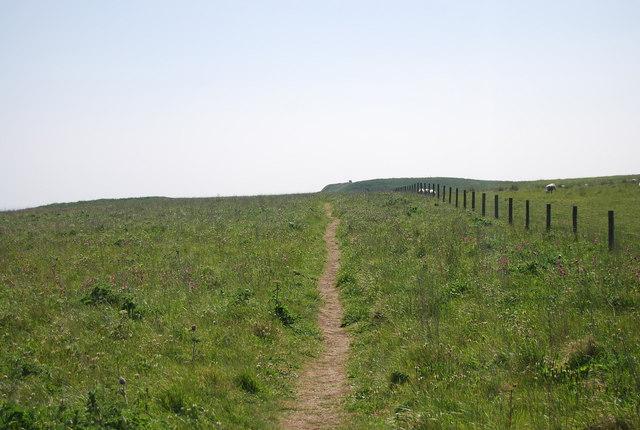 Headland Way towards Cat Nab
