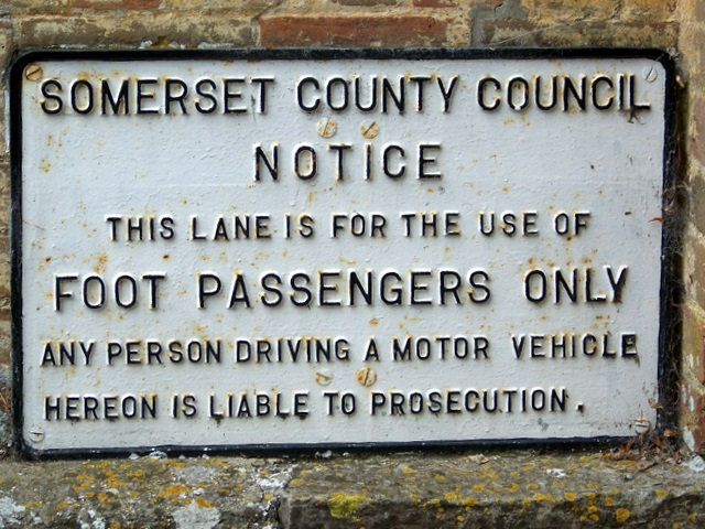 Foot Passengers Only, Langport