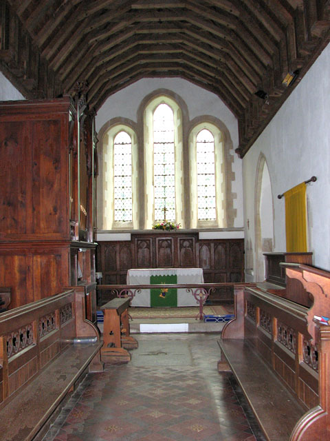 St Mary's church in Crimplesham - the chancel