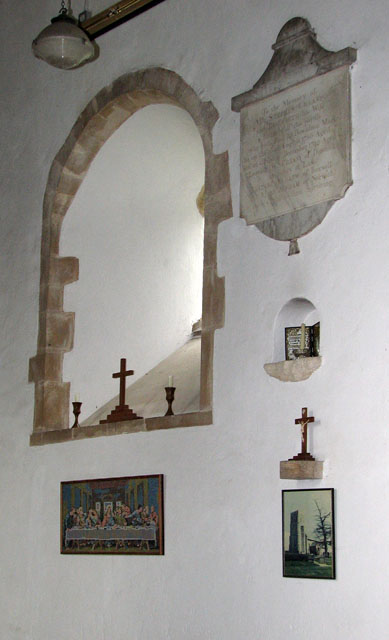 St Mary's church in Crimplesham - memorial