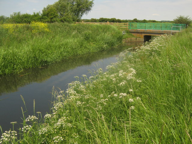Cradlebridge Sewer - looking upstream towards New Bridge