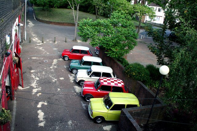 Croydon:  Minis of many colours