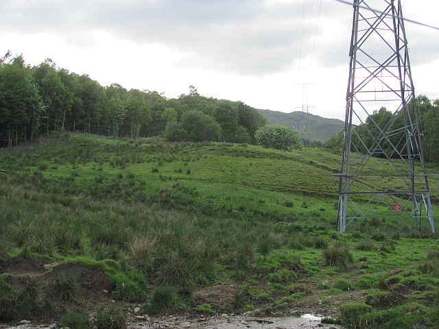 Power lines, Achadh an Tice