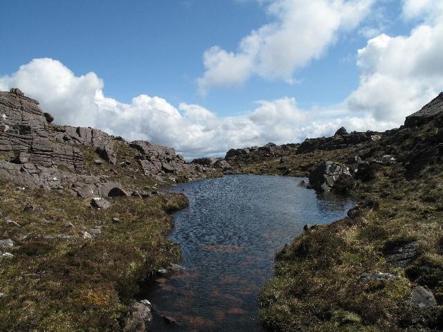 Lochan South of Summit of An Staonach