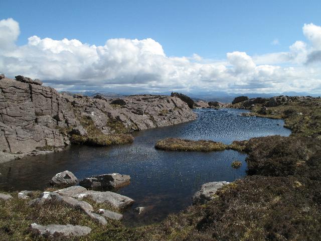Lochan South of the Summit of An Staonach
